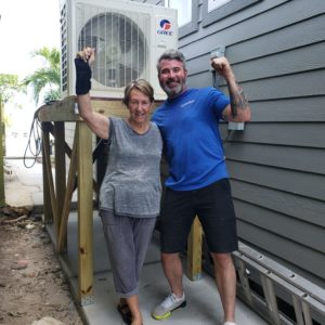 happy customer new a/c